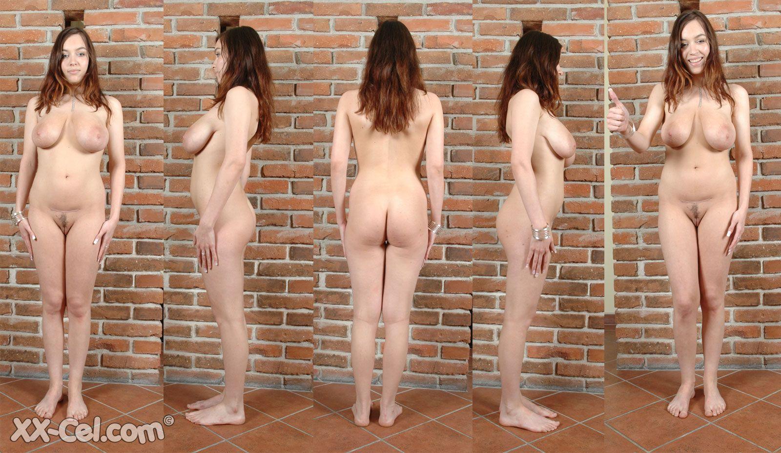Naked Blonde Slave Girl