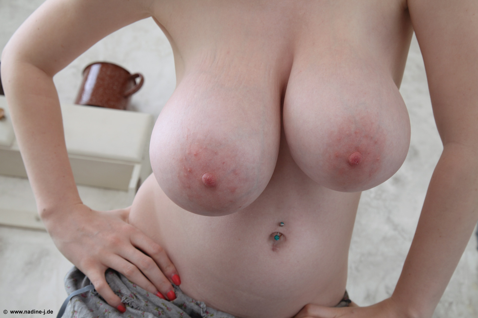 Sweet breasts demonstration from shining belle and her awesome forms