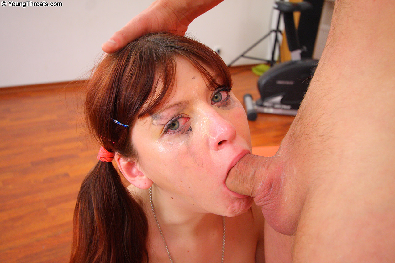 Marvellous cocksucking from superb temptress
