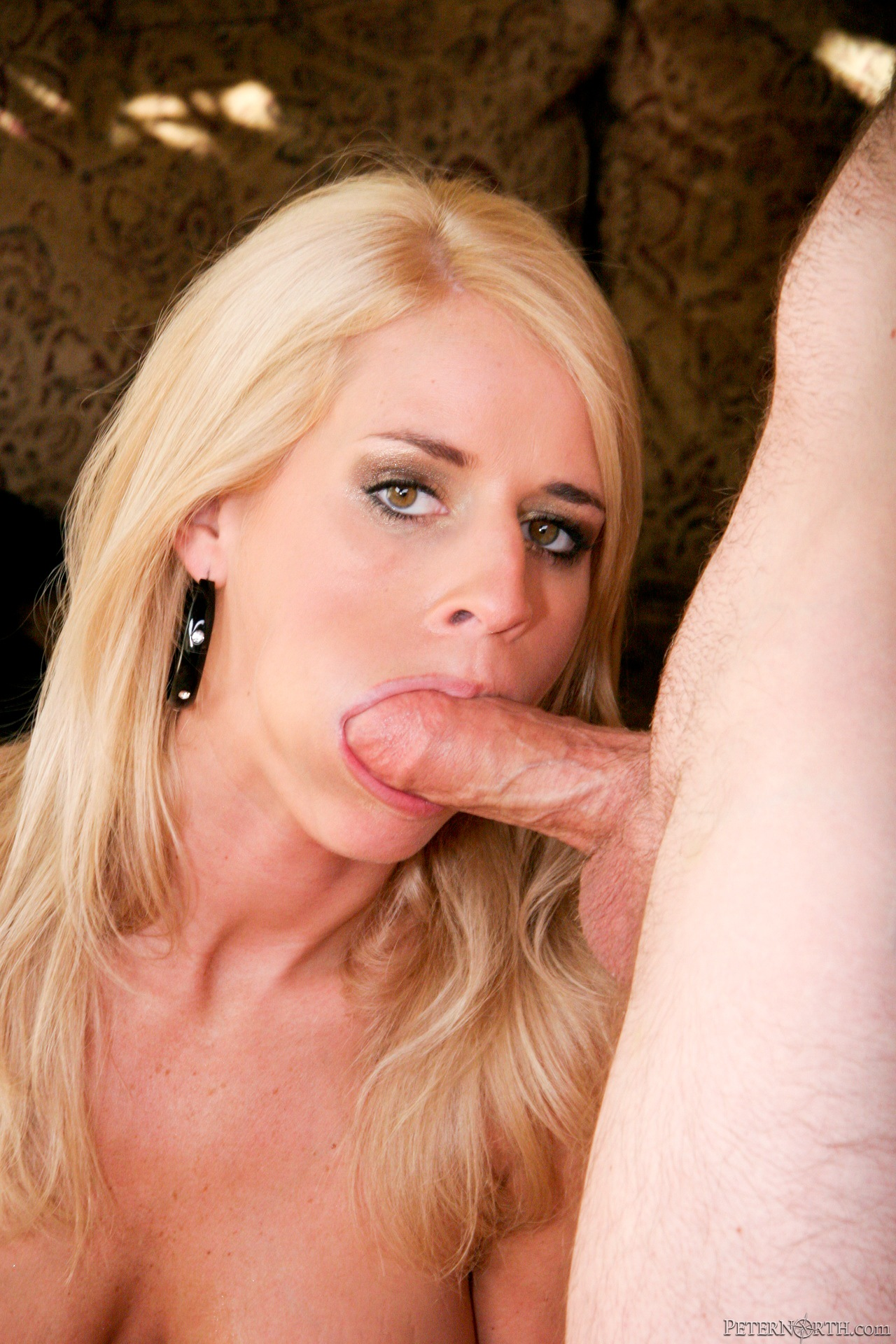 Tender lips polishing dick with delicious temptress