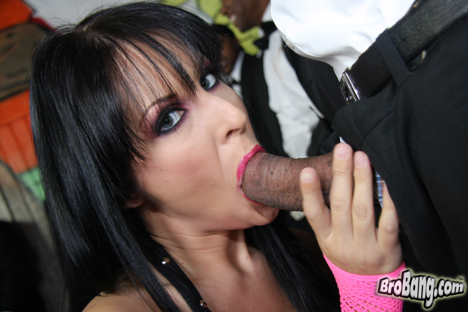 Insidious blowing and slurpy job from lovely slutty dolly with gentle feets
