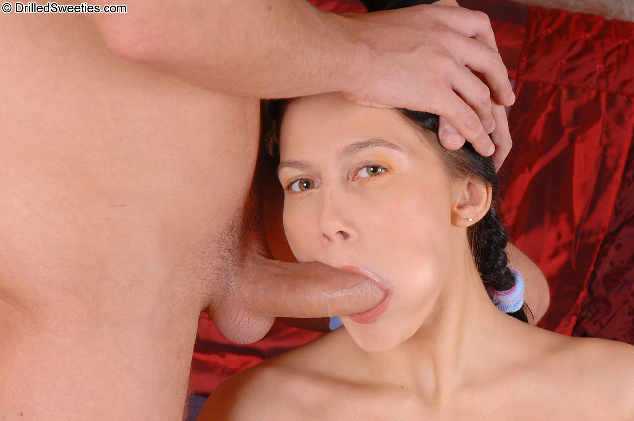 Brilliant queen of blowjob and inspired mouth blowing