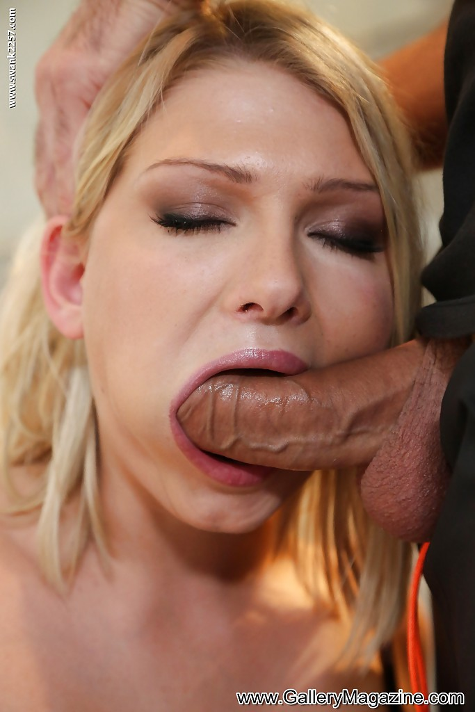 Lucy Heart Blonde Is Stripped And Blowjobs For Facial Cumsho Videobox 1